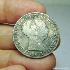Monedas de España: 4 REALES. PLATA. ISABEL II. SEVILLA - 1853. Lote 293567658