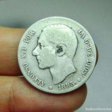 Monedas de España: 1 PESETA. PLATA. ALFONSO XII. 1883.. Lote 293572648