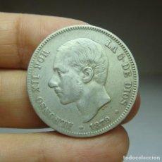 Monedas de España: 2 PESETAS. PLATA. ALFONSO XII. 1879. Lote 293579143
