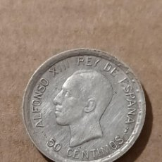 Monedas de España: 50 CÉNTIMOS 1926 PCS - ALFONSO XIII - PLATA - 2,47G. Lote 294108043