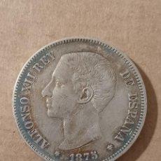 Monedas de España: DURO PLATA 1875 *75 - ALFONSO XII - 5 PESETAS. Lote 294109568