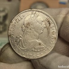 Monedas de España: ESPAÑA 8 REALES CARLOS III - 1788 FM MÉXICO KM 106A PLATA. Lote 294161058