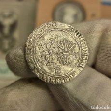 Monedas de España: ESPAÑA REYES CATÓLICOS 1 REAL 1474-1504 BURGOS PLATA. Lote 294163258