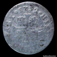 Monedas de España: FERNANDO VII, 1/2 REAL DE PLATA, MADRID 1752 - 15 MM / 1.23 GR.. Lote 294484178