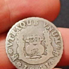 Monedas de España: 2 REALES DE COLUMNARIO DE FELIPE V MEXICO 1741. Lote 294489128