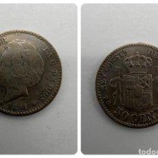 Monedas de España: MONEDA. ESPAÑA. ALFONSO XII. 50 CENTIMOS. 1894. ESTRELLAS *X - 4*. VER FOTOS. Lote 295047488