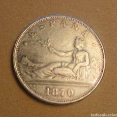 Monedas de España: MONEDA DE CINCO PESETAS DE 1870 I REPUBLICA. Lote 295538103