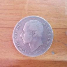 Monedas de España: MONEDA DE ALFONSO XII DE 1883, 1 PESETA. DE PLATA. Lote 295551323