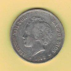 Monedas de España: ALFONSO XIII 5 PESETAS MADRID 1893 PGL M148. Lote 296766078