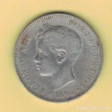 Monedas de España: ALFONSO XIII 5 PESETAS MADRID 1896 PGV M151. Lote 296766633