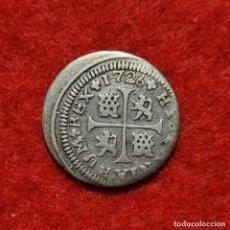 Monedas de España: MONEDA PLATA FELIPE V 1/2 MEDIO REAL 1726 SEVILLA MBC ORIGINAL C10. Lote 296844603