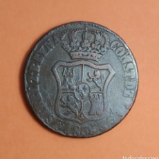 Monedas de España: ISABEL II * 1839* 6 CUARTO * CATALUÑA. Lote 297031318