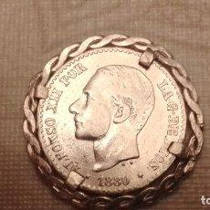 Monedas de España: MONEDA 50 CENTIMOSA LAFONSO XII. Lote 297118993