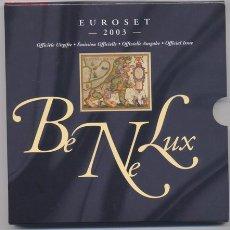 Euros: BENELUX- 2003. Lote 872023
