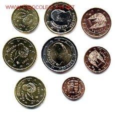 Euros: COLECCION EUROS ESPAÑA, 2002 COMPLETA, 8 VALORES , SIN CIRCULAR , ORIGINAL. Lote 113272019