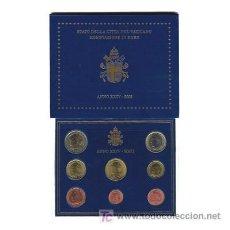Euros: CARTERA OFICIAL EUROS VATICANO 2002. Lote 19863828