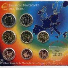 Euros: 10 CARTERAS 2003 EUROS DE ESPAÑA OFICIALES FNMT , COLECCIONES COMPLETAS ,RB. Lote 26613656