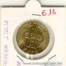 Euros: (E-13)PRUEBA DE ITALIA. Lote 4570729