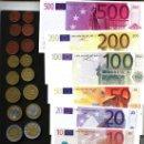 Euros: PRUEBA AÑANA, ALAVA, 2 VALORES DE 5 Y 10 EURO QUE FUNCIONARON . Lote 9422530