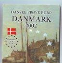 Euros: EURO PRUEBA BLISTER DANMARK 8 COIS 2002 METAL. Lote 15535421