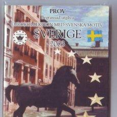 Euros: EURO PRUEBA BLISTER SVERIGE-SUECIA 8 COIS 2003 METAL. Lote 15535397