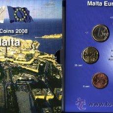 Euros: CARTERA EUROS MALTA 2008. EMISIÓN OFICIAL (EURO SET) SIN CIRCULAR.. Lote 195267013