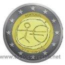 Euros: MONEDA 2 EUROS CONMEMORATIVA PORTUGAL EMU 2009. Lote 105731564