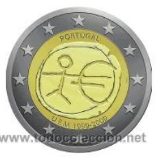Euros: MONEDA 2 EUROS CONMEMORATIVA PORTUGAL EMU 2009. Lote 165684264