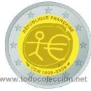 Euros: MONEDA 2 EUROS CONMEMORATIVA FRANCIA EMU 2009 . Lote 118404138