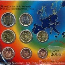 Euros: CARTERA OFICIAL EUROS ESPAÑA 2004. Lote 26147909