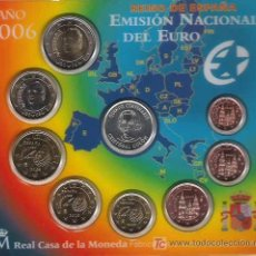 Euros: CARTERA OFICIAL EUROS ESPAÑA 2006 - COLÓN. Lote 27571788