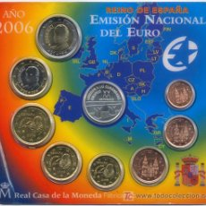 Euros: CARTERA OFICIAL EUROS ESPAÑA 2006 - ADHESIÓN A LA C.E.E.. Lote 27571789