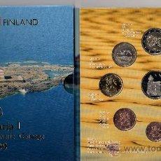 Euros: EUROS FINLANDIA 2009. CARTERA OFICIAL (EURO SET) SIN CIRCULAR.. Lote 22133398