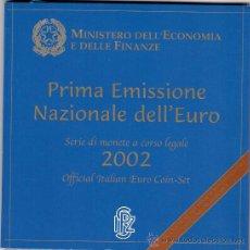 Euros: ITALIA 2002. Lote 26333920