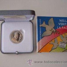 Euros: VATICANO 2006, 5 EUROS EN ESTUCHE ORIGINAL-- AGOTADA+++PLATA. Lote 13906649