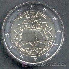 Euros: FRANCIA 2 EUROS 2007 TRATADO DE ROMA. Lote 269067893