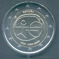 Euros: ESPAÑA 2 EUROS 2009 10º ANIV. DEL EURO EMU. Lote 153778725
