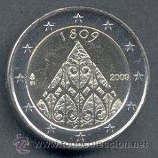 Euros: FINLANDIA 2 EUROS 2009 BICENTENARIO DE LA INDEPENDENCIA FINLANDESA. Lote 173601044