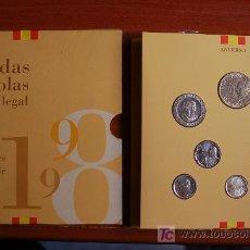 Euros: CARTERA OFICIAL JUAN CARLOS ESPAÑA 1998 FNMT. Lote 17159500