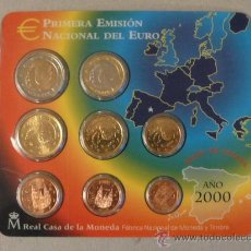 Euros: CARTERA EUROS AÑO 2000 EURO. Lote 27496518
