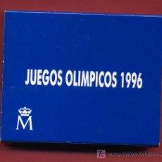 Euros: ESTUCHE 1000 PESETAS 1996 , PLATA , JUEGOS OLIMPICOS 1996. ORIGINAL FNMT. Lote 24848009