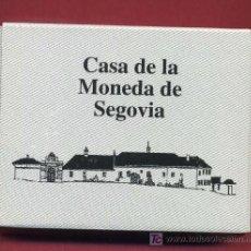 Euros: ESTUCHE 500 PESETAS 2001 , CASA MONEDA SEGOVIA, RUEDA HIDRAULICA , PLATA PROF, ORIGINAL FNMT. Lote 25619942