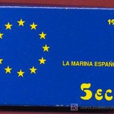 Euros: ESTUCHE MONEDA 5 ECU 1995 , ECUS , PLATA PROF, ORIGINAL FNMT , LA MARINA ESPAÑOLA. Lote 26348756