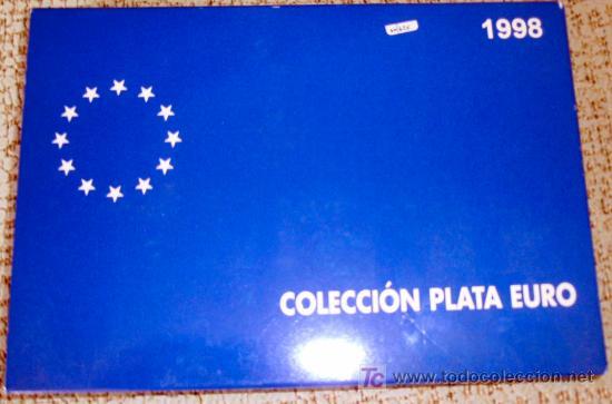 Euros: ESTUCHE COLECCION EUROS 1998 SERIE PLATA PROF 1 EURO 5 EUROS Y 25 EUROS HOMENAJE AL EJERCITO FNMT - Foto 3 - 25555725