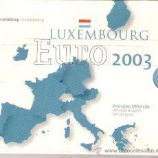 Euros: CARTERA OFICIAL LUXEMBURGO 2003. Lote 26333907