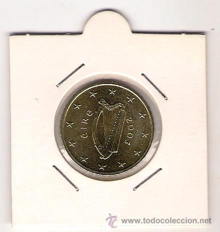 50 CENTIMOS DE EURO DE IRLANDA DEL 2003- SIN CIRCULAR (Numismática - España Modernas y Contemporáneas - Ecus y Euros)