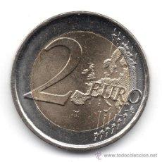 Euros: MONEDA 2 EUROS ESPECIAL UEM 1999 - 2009. SUPER SIN CIRCULAR, VER FOTOS, NO SE APRECIA TODO EL BRILLO. Lote 192858525