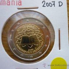 Euros: MONEDA CONMEMORATIVA 2 EURO - TRATADO DE ROMA - ALEMANIA 2007 - CECA D - SC. Lote 26931600