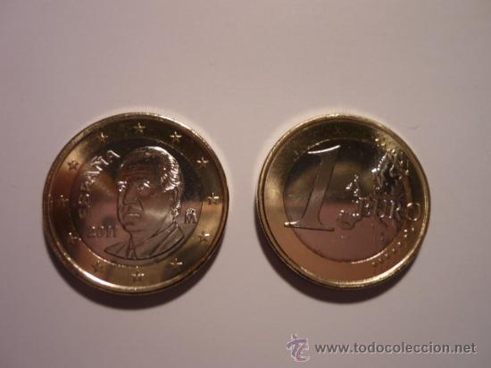 ESPAÑA 1 EURO 2011, SC (Numismática - España Modernas y Contemporáneas - Ecus y Euros)