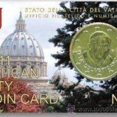 Euros: COIN CARD Nº 2 DEL VATICANO 2011. Lote 168386197